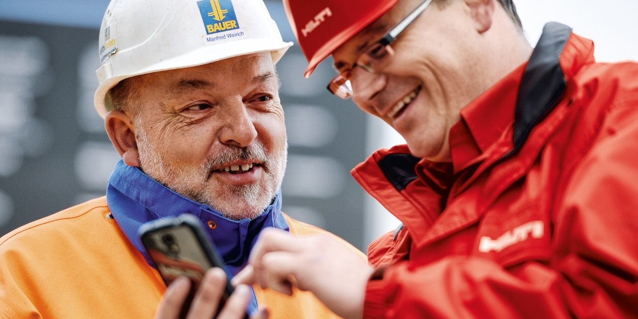 Hilti Connect et ON!Track