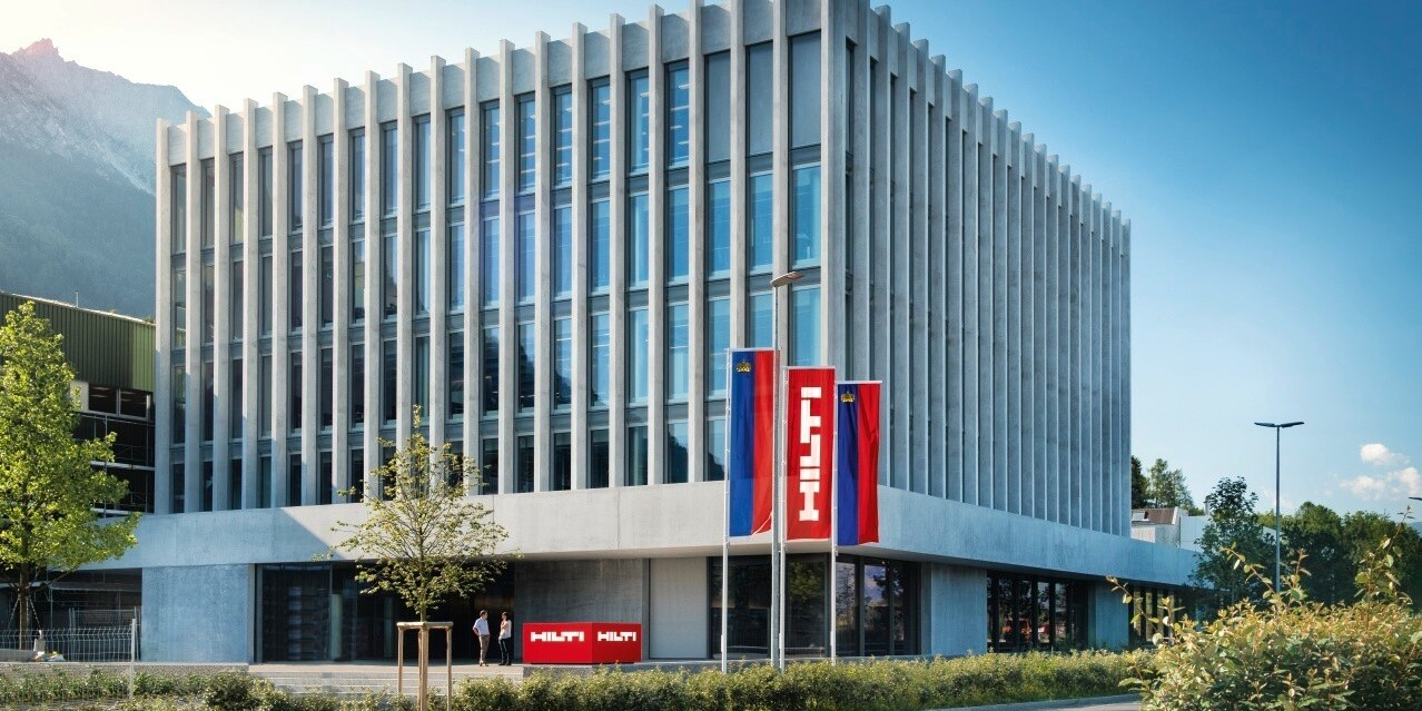 Hilti-fabriek in Schaan, Liechtenstein