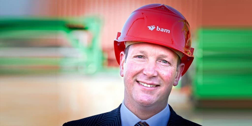 Geert van der Linde, Royal BAM Group nv