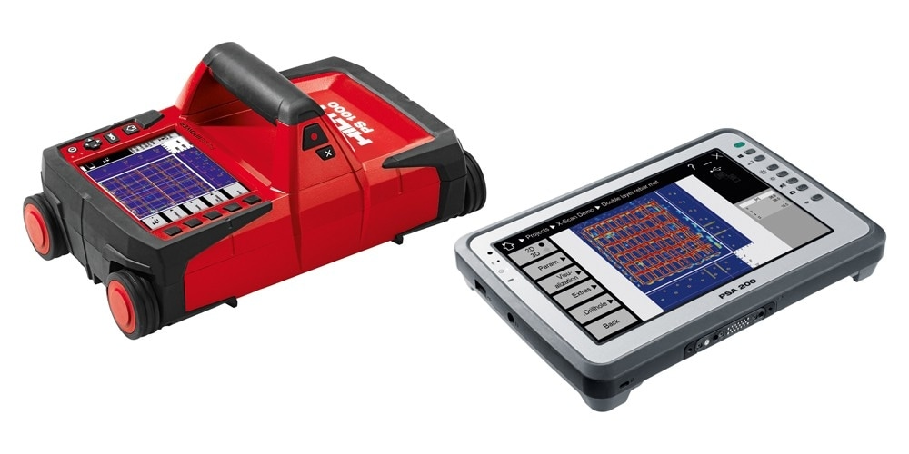 Hilti ps 1000 x-scan detectiesysteem