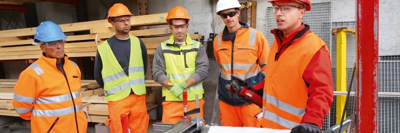 Hilti angle grinder safety training